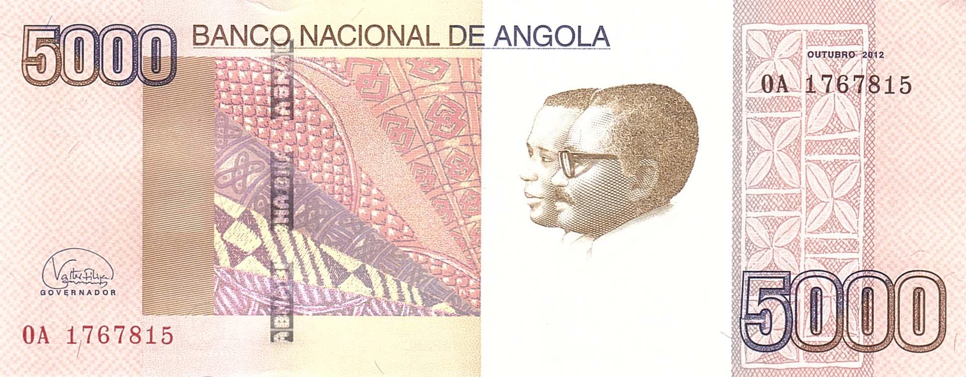 Angola 5000 Kwanzas